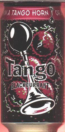 TANGO-Blackcurrant soda-330mL-WIN A TANGO HORN (ST-Great Britain