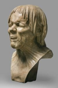 Just Rescued from Drowning  1771-83   Franz Xaver Messerschmidt