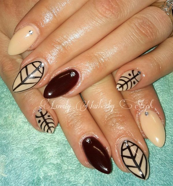 301 Best Images About Accent Nail Art On Pinterest