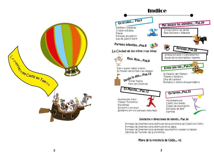 Actividades en familia por la provincia de Cádiz Una guía en clave de Cómic.
