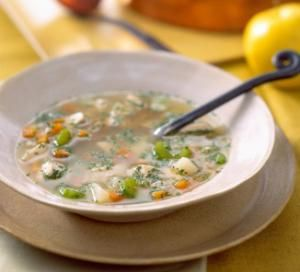 Make this Simple but Delicious Chicken Soup: Chicken Vegetable Soup