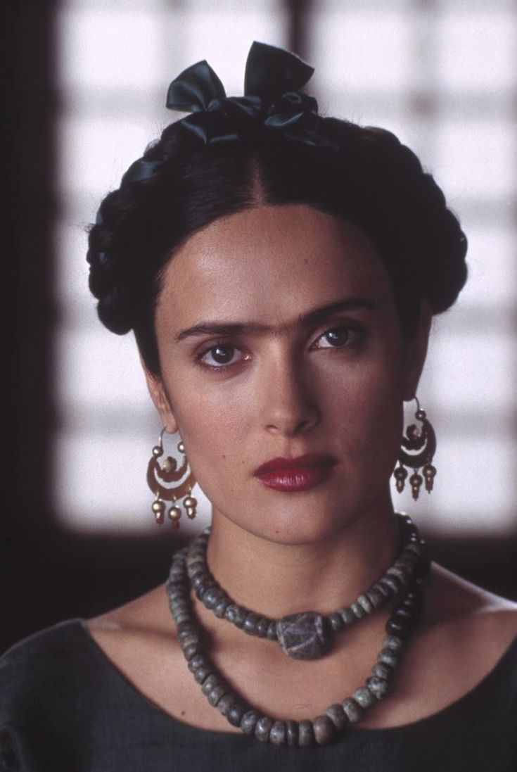 FRIDA | Frida (Salma Hayek) wearing a stunning natural stone beaded necklace | watch clips at miramax.com