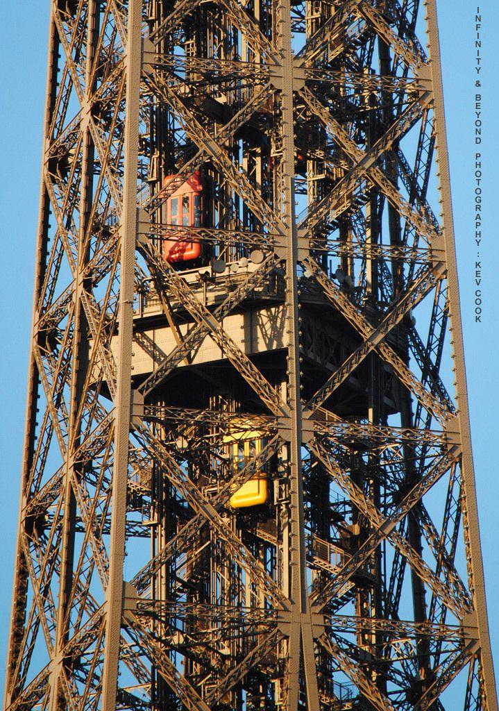 https://flic.kr/p/nZigaS | Eiffel Tower Elevators