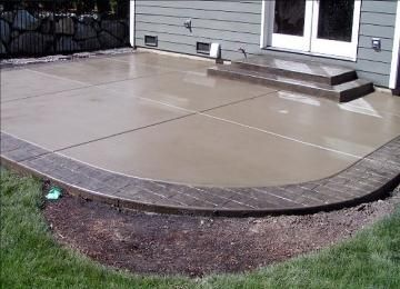 Colored Cement Patio   Concrete FX, Pool Deck and Patio Gallery, Stamped, Stained Concrete