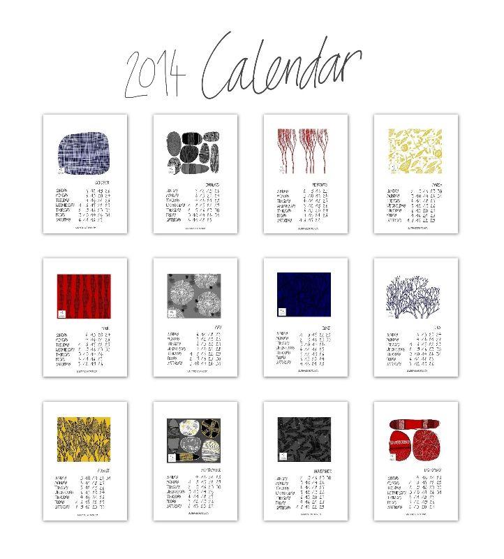 2014 calendar free download - in Italian too