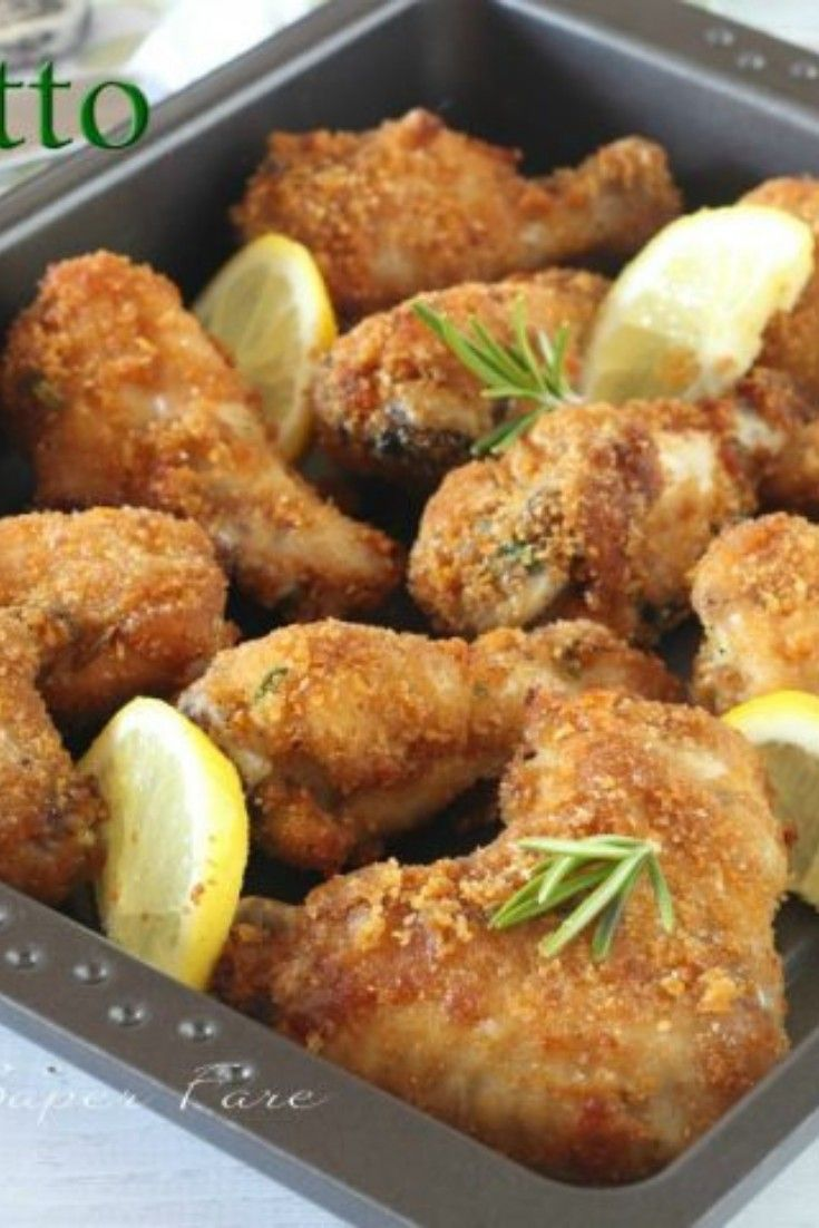 Pollo Fritto Ricette