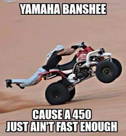 24cfe127834e9a5abbfeb85fe7e380b5 yamaha atv atv quads yamaha 13 best banshee images on pinterest dirt biking, dirtbikes and atvs