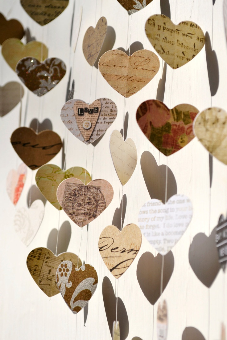 Room decoration for anniversary - Large Love Letters Mobile Wall Hanging Unique Wedding Gift Guest Book Anniversary