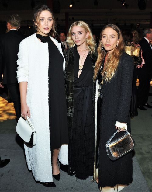 Lizzie, Ashley, and Mary-Kate attending the 2016 LACMA Art & Film Gala presented by Gucci in Los Angeles, October 29, 2016 (via olsensobsessive.com)
