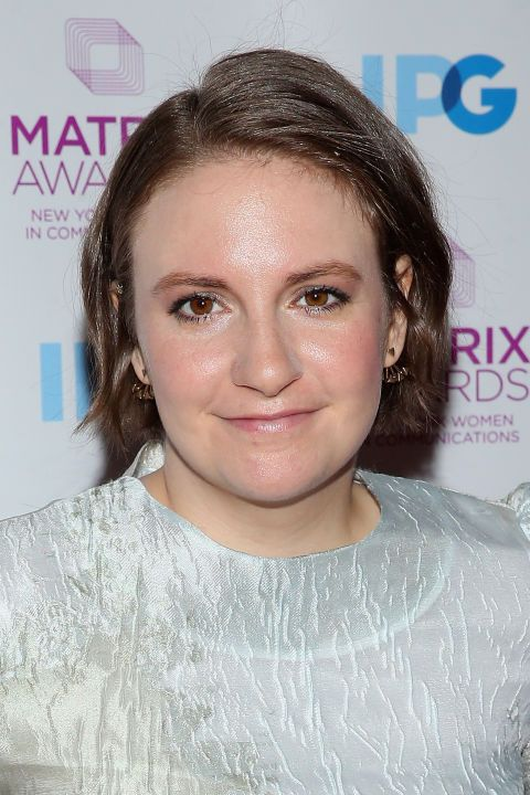 Hannah Horvath eat your heart out, we're into Lena Dunham's shoulder length bob.