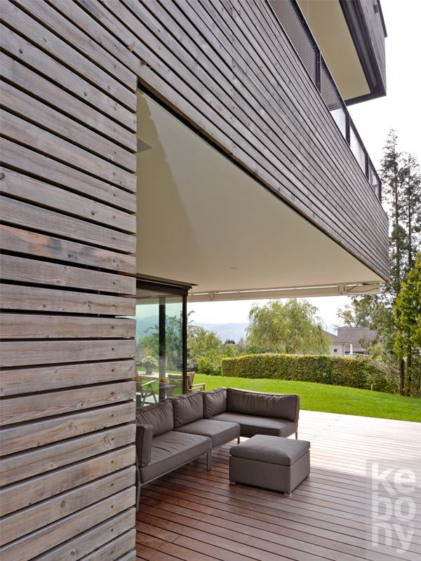Kebony is the only sustainable alternative to tropical hardwood when beauty and performance are essential. Kebony comes with a 25 year warranty in any climate. Kebony Scots Pine Cladding is produced from sustainably managed Scots pine, which is treated with bio-based, renewable chemicals.