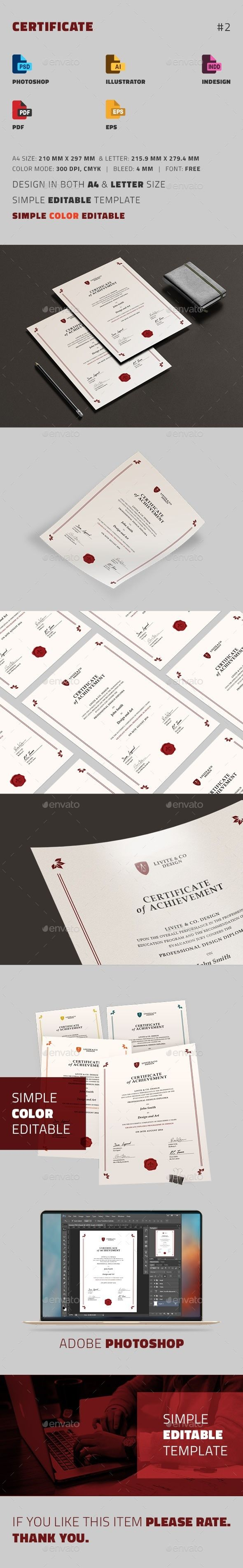 156 best certificate template design images on pinterest certificate yelopaper Choice Image