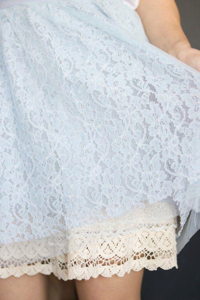 Шьем воздушную кружевную юбку. Заработок в интернете без вложений