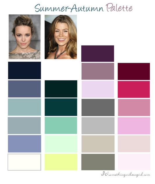 [Guide] An Introduction To Seasonal Color Analysis ...