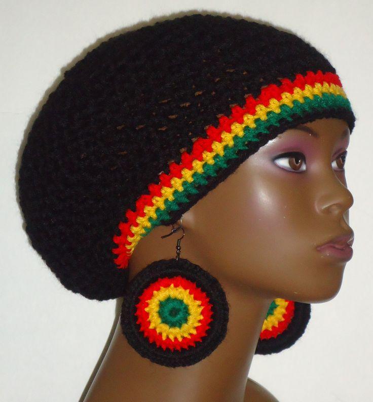 87 besten Rasta Crochet Hats Bilder auf Pinterest | Rastafarben ...