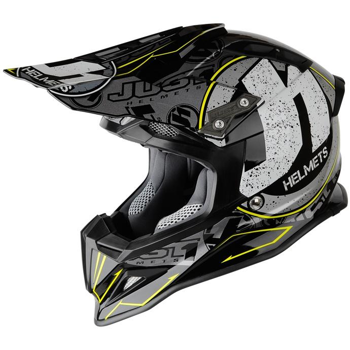 2013 Just 1 J12 Motocross Stamp Helmet - Black - Just 1 Motocross Helmets - Motocross Helmets - Motocross Kit - by Just 1