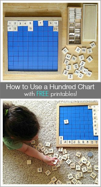 Tons of ways to use a hundred chart (w/ FREE printables)! ~BuggyandBuddy.com