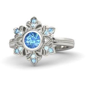 Gemvara Snowflake Ring