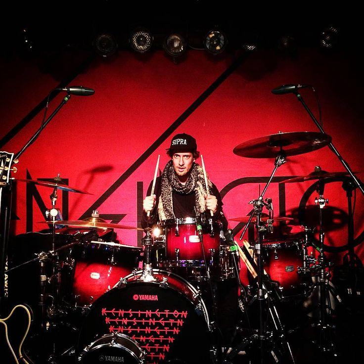 """Worst drummer in the world... #poland #soundcheck"""