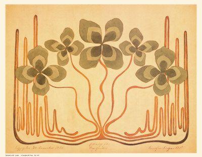Art Nouveau - mouvement artistique style nouille ou metro - ArtOuest
