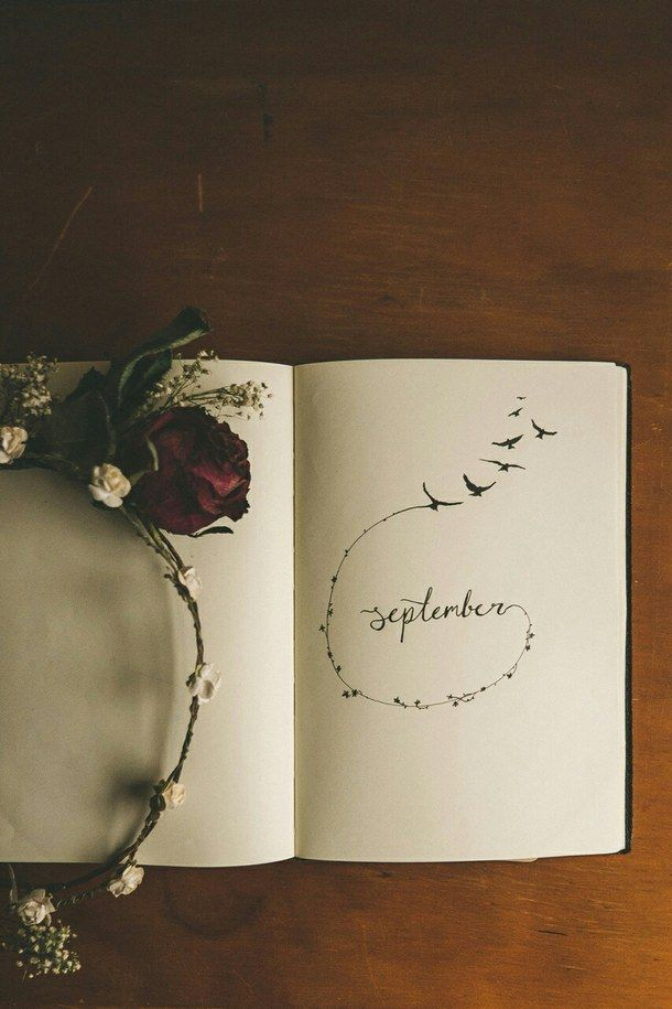 autum, calendar, diary, drawing, fall, hello, hello september, journal, month…