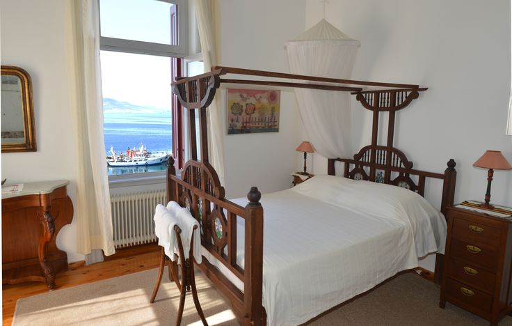 Good morning. Perfect awakening! Sun rays on the bed. www.villamolova.com #Villa #Molova    #Molyvos, #Μήθυμνα, #Lesvos, #Greece