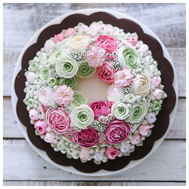 how to make butter icing flowers