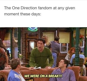 12 people who still just CANNOT with One Direction's hiatus - Sugarscape.com>>> literally me anytime I hear anyone say something about one directions breaking up (literally I start screaming)