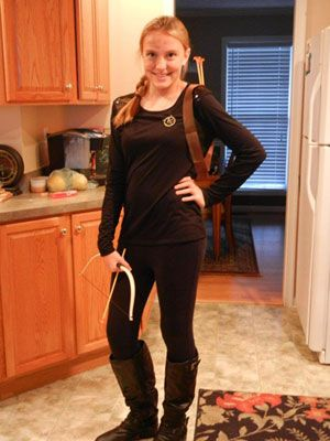 I AM DOING THIS-- katniss from hunger games for halloween