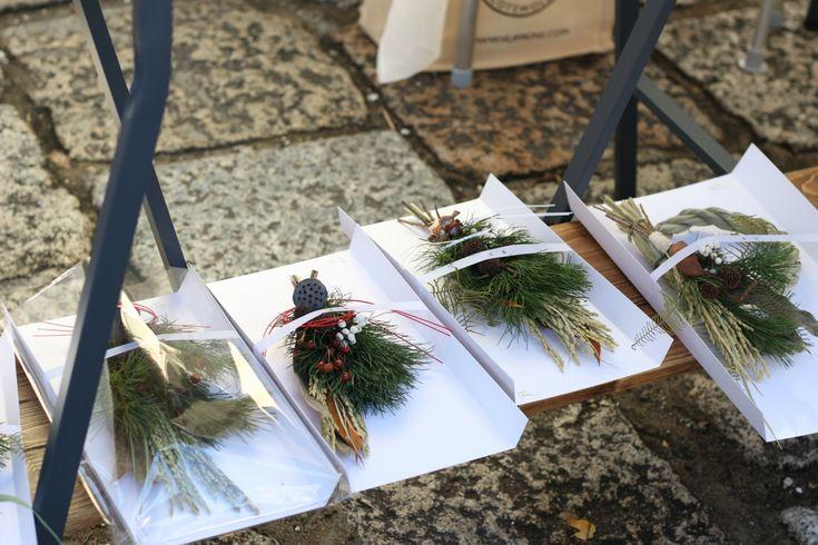 FLEURI (フルリ)| ドライフラワー dryflower お正月飾り 東別院てづくり朝市 イベント マルシェ