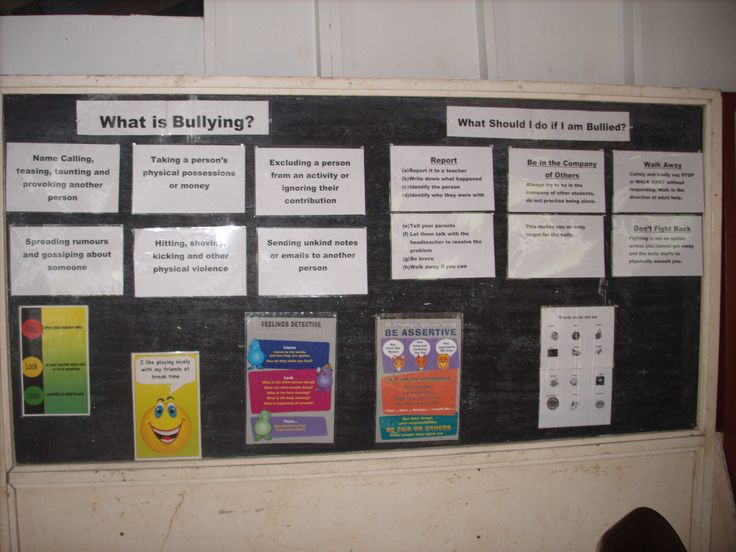 Exceptional Bulletin Board For Middle School Counseling Office On Bullying