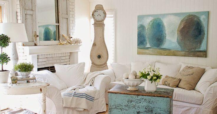 Crear un ambiente en blanco y turquesa estilo nórdico