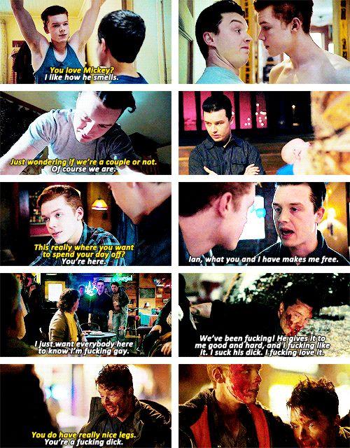 Ian and Mickey, Shameless