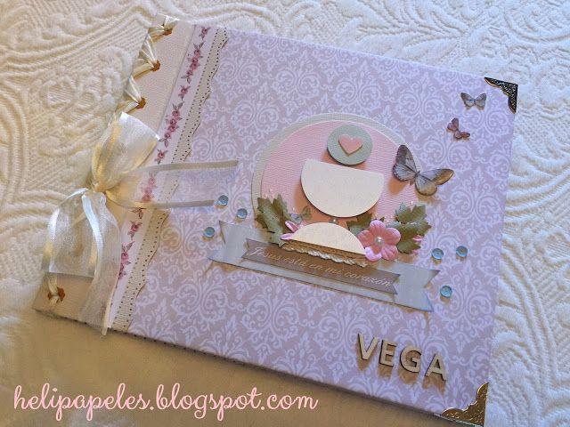 Heli Papeles ♥: Libro de Firmas de Comunión para Niña