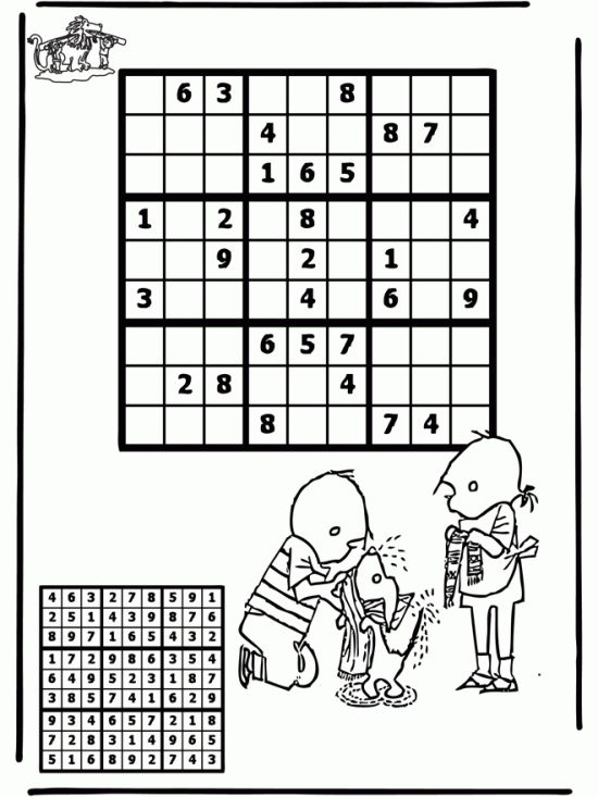 36 Best Sudoku Images On Pinterest Sudoku Puzzles