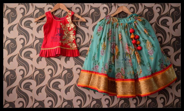 Watch your kids flaunting these floral lehangas from Team Teja