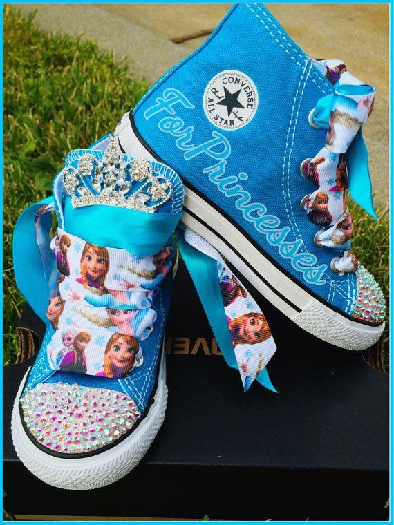 Hey, I found this really awesome Etsy listing at https://www.etsy.com/listing/190565616/frozen-birthday-shoes-turquoise