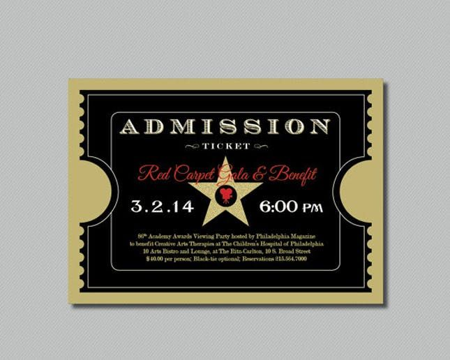 Admission Ticket Template Enchanted Forest Prom Admission Tickets