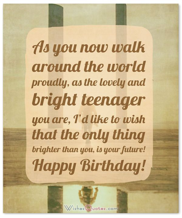 Teenage Birthday Quotes : teenage, birthday, quotes, Birthday, Wishes, Teenagers, Article, Dreams, Wishes,, Happy, Teenager