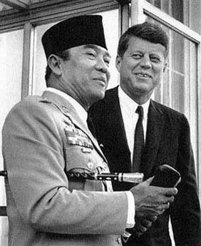 Sukarno - Kennedy.