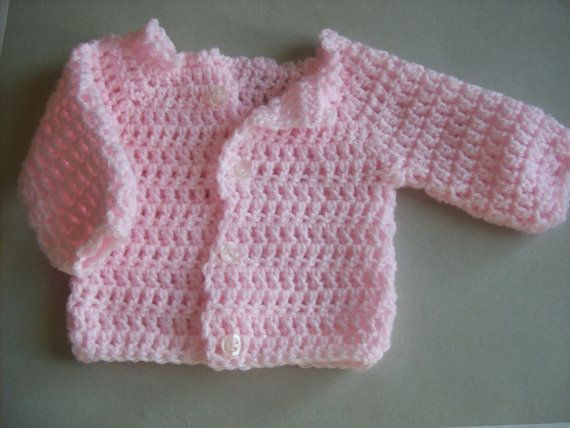 Premature Baby Crochet Cardigan Pattern : 87 best images about Crocheted Clothing for Preemies on ...