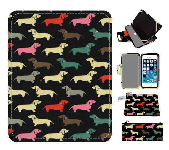 DACHSHUND ipad air 2 case stand handmade ipad cover ipad air case cute ipad cases ipad mini case ipad case stand, ipad stand, ipad air
