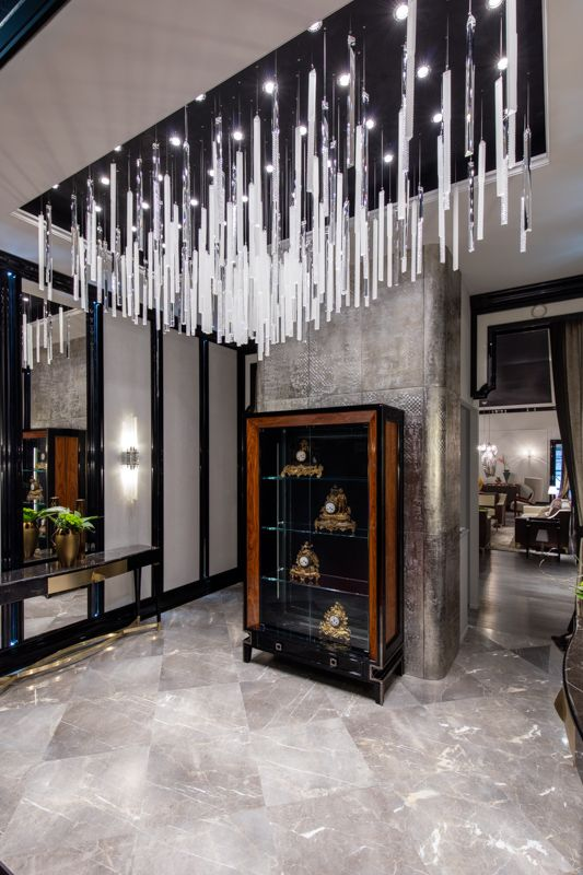 PRECIOSA Lighting & Giorgio Piotto at Salone del Mobile 2016. #light #residential #lighting #milandesignweek #design #crystal #luxury
