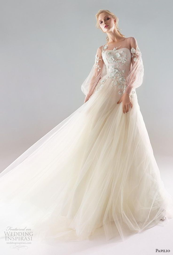 Papilio 2019 Wedding Dresses - Dress Collection White Wind Collection