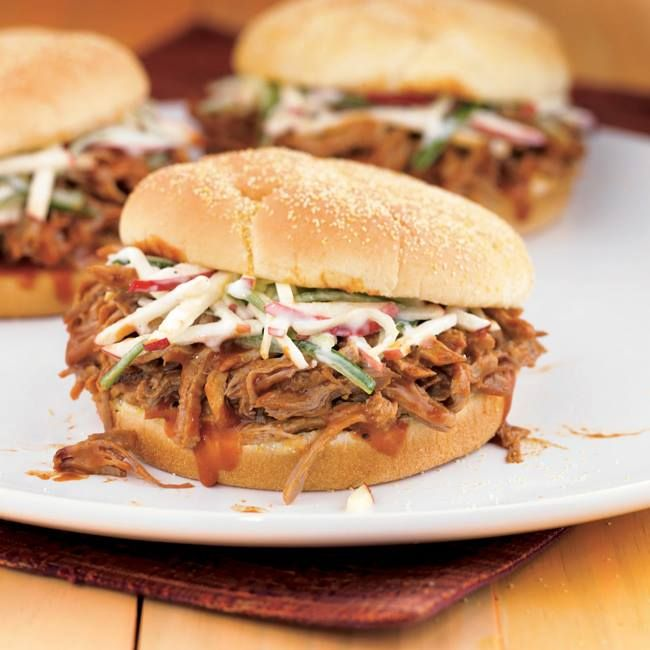 Carolina Pulled Pork Sandwiches Get the recipe right from my website ...