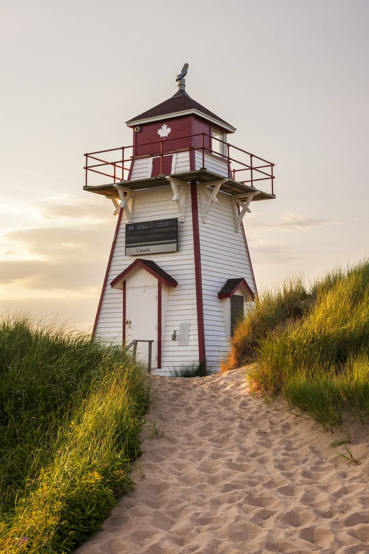 Covehead Harbour Lighthouse, PEI - Covehead Harbour ...