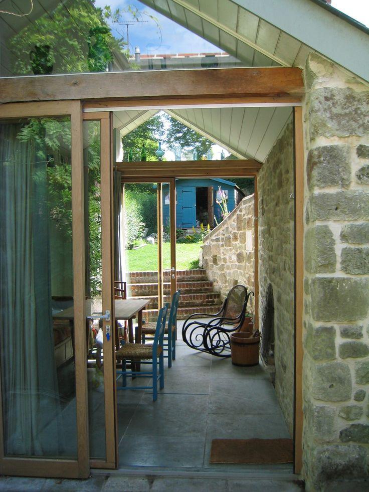 English barn extension