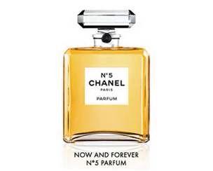 Chanel No.5 perfume bottle