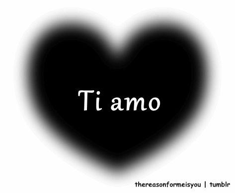 je taime ti amo te amo i love you coeur heart corazon GIF animé