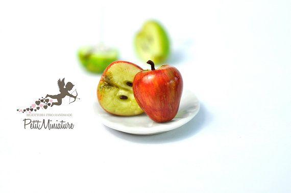 Orecchini Mela-Orecchini Borchie-Gioielli di PetitMiniatures